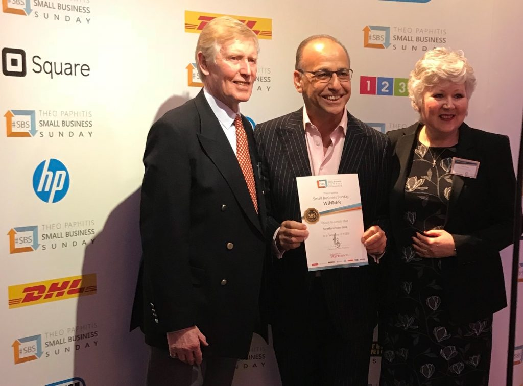Theo Paphitis SBS Award