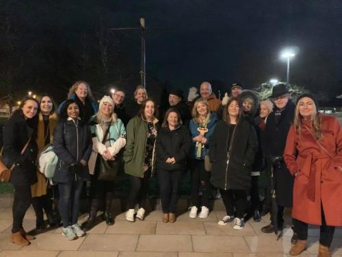 An evening Ghost walk