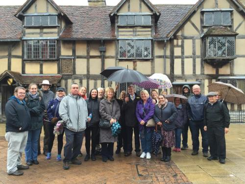Town Walk - whatever the weather!